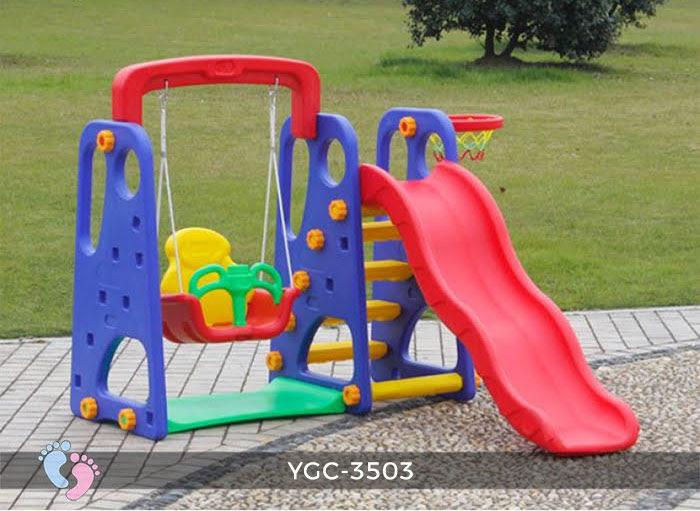 Cầu trượt trẻ em đa năng YGC-3503 8