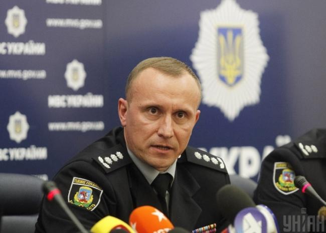 Начальник Главного управления полиции в Киевской области Андрей Небытов