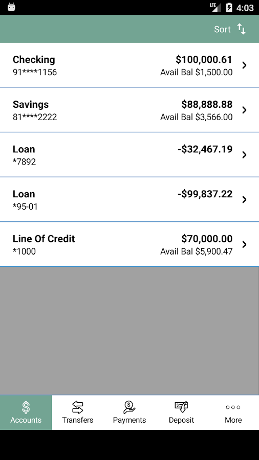 Sage Capital Mobile Banking- screenshot