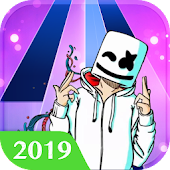 Piano Tiles: Marshmello Music Dance Icon