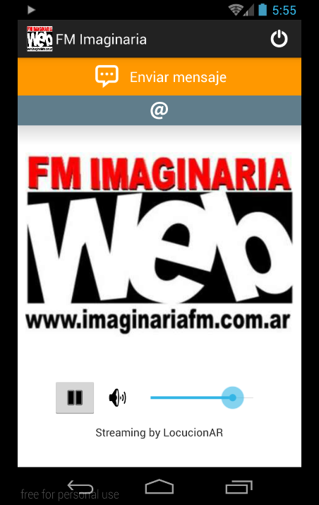 FM Imaginaria- screenshot