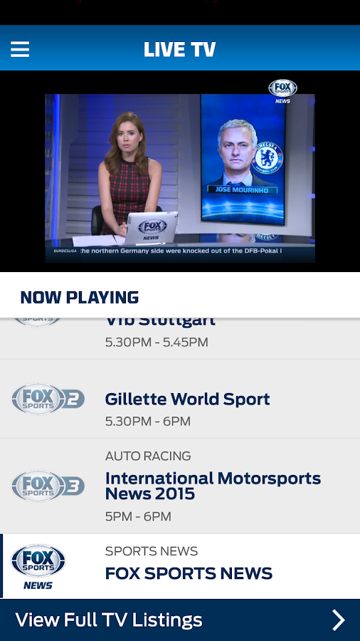 FOX Sports Play- screenshot