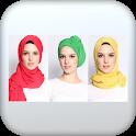 لفات حجاب 2021 للوجه الطويل  lafat hijab icon