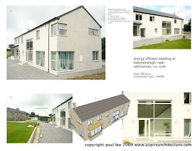 Photo: Energy Efficient Dwelling, Rathcormac, County Cork, Ireland. The project was carried out entirely in SketchUp Pro/ LayOut