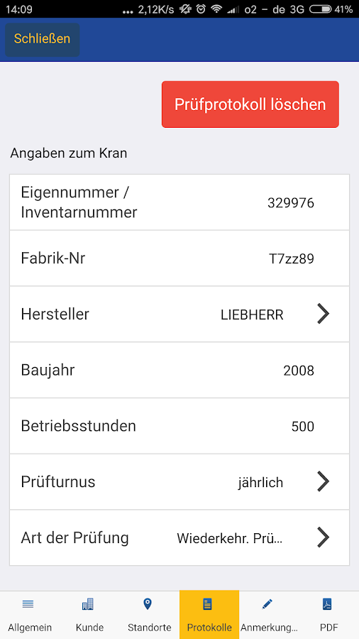 Kranprüfer- screenshot