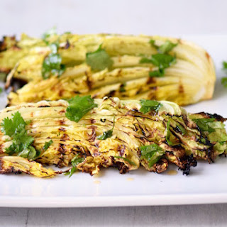 Grilled Cabbage with Asian Lime Dressing Recipe
