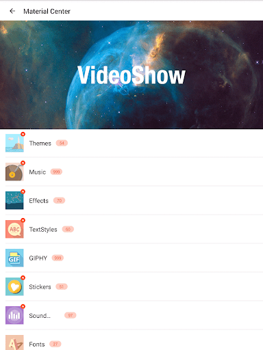 VideoShow Video Editor, Video Maker, Beauty Camera game (apk) free download for Android/PC/Windows screenshot