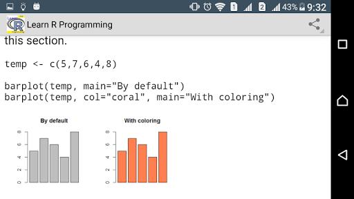 Learn R programming Pro - FULL screenshot 3