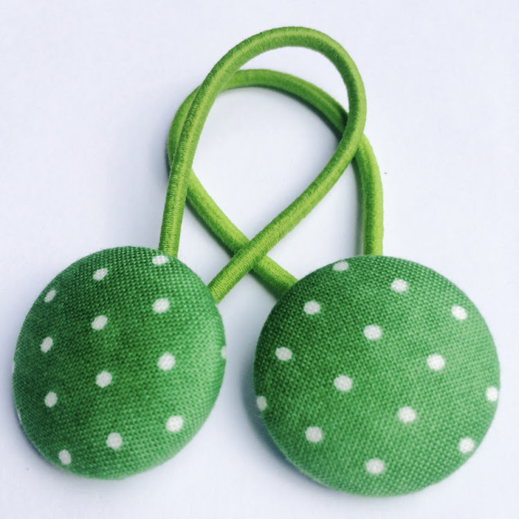 Lime Green Polka - Medium