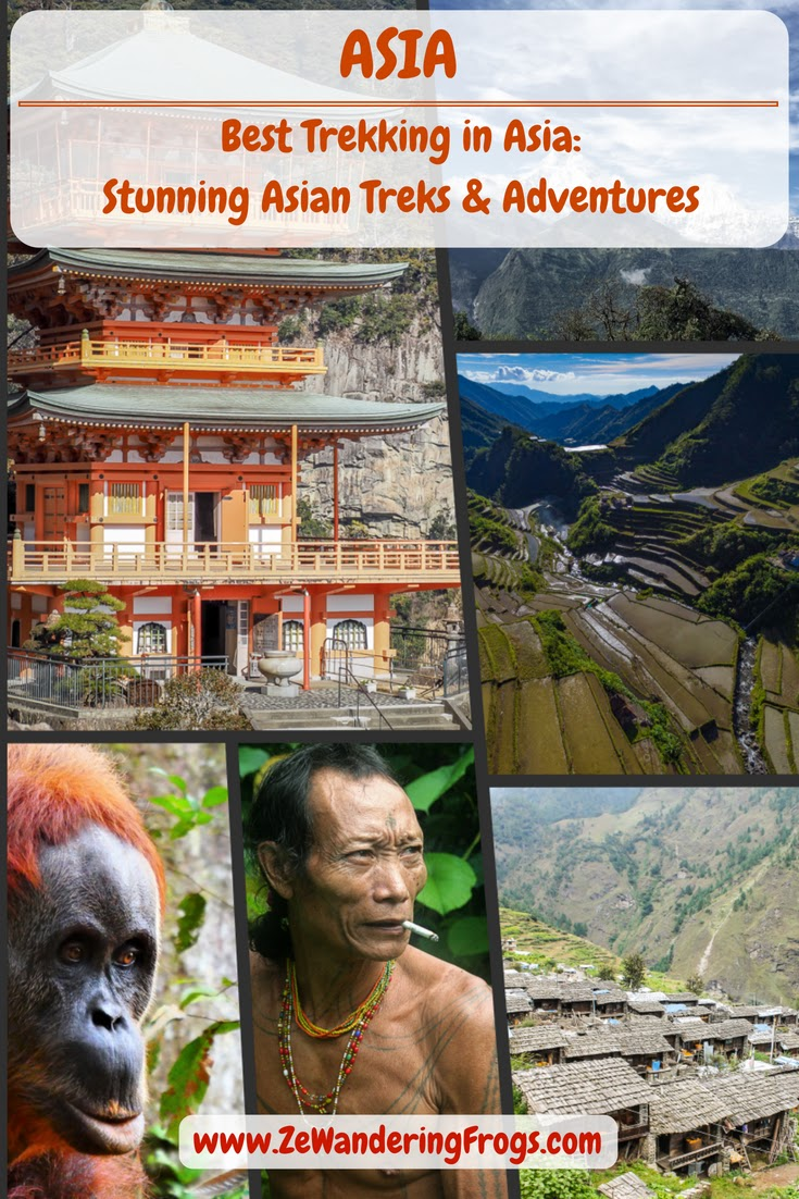 Best Trekking Asia // Top Asian Treks Adventures