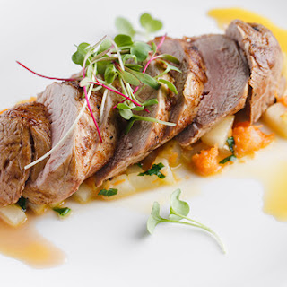 Spiced Pork Tenderloin with Pear Sauce