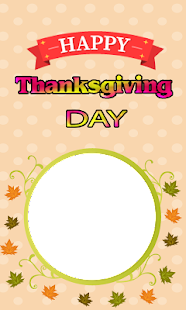 Happy Thanksgiving Day Frames - náhled