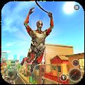 Robot Rope Hero Simulator - Army Robot Crime Game icon