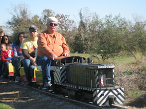Photo: Gary Brothers on his ATSF 5159.     HALS 2012-1117