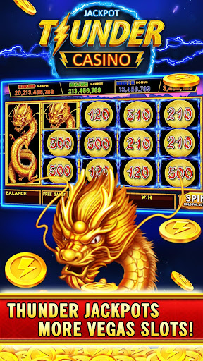 Thunder Jackpot Slots Casino - Free Slot Games screenshots 5