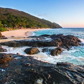 Octopus Resort Waya Island Fiji by Jason Rose - Landscapes Beaches