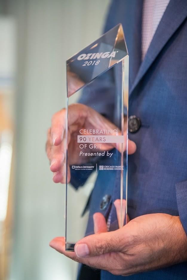 CFBC Ozinga Award