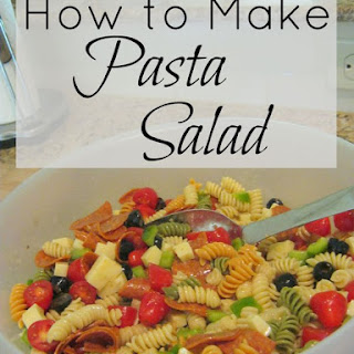 Susan's Pizza Pasta Salad