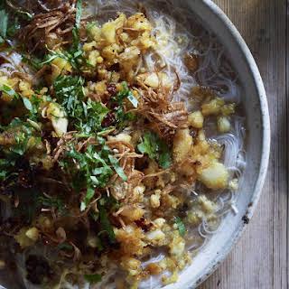 Mohinga Noodle and Fish Soup.