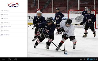 Screenshot of USA Hockey Mobile Coach