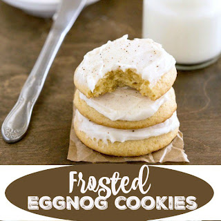 Frosted Eggnog Cookie