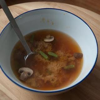 Crazy Veggie Miso Soup
