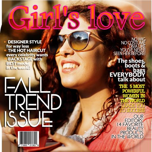 雜誌封面攝影蒙太奇 生活 App LOGO-APP試玩