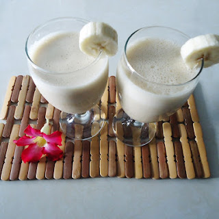 Almond Banana Milk Shake Recipes