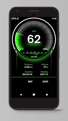 Speed View GPS screenshot 1