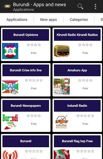 Burundian apps