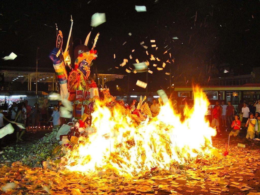 Kết quả hình ảnh cho lễ vu lan Tại Malaysia