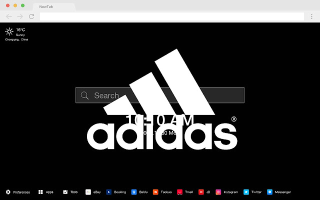 Adidas New Tab HD Wallpapers Sports Theme
