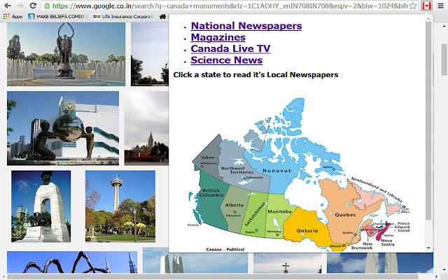 Canada-Newspapers-TV & Magazines