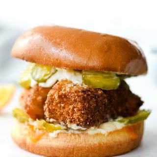 Healthy-Ish Fried Fish Sandwich Recipe