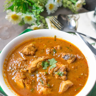 Chicken Masala Gravy.