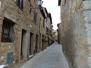 Photo: arriving Pienza
