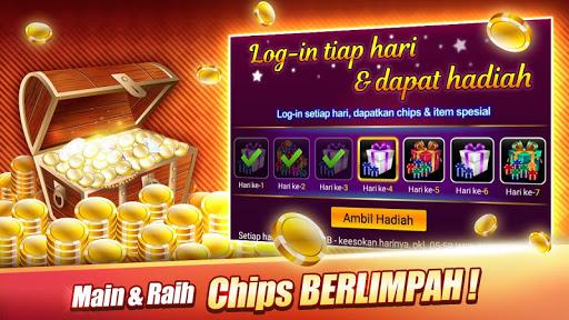 LUXY : Domino & Pokeru00a0u2013 Gaple QiuQiu QQ 99 Remi 5.1.8.0 screenshots 7