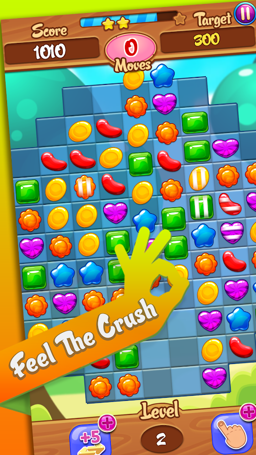 Crush Jelly City- screenshot