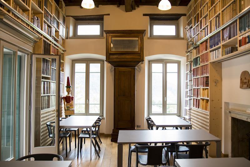 La Biblioteca di Ca' Berizzi.(Bg) di Cperso