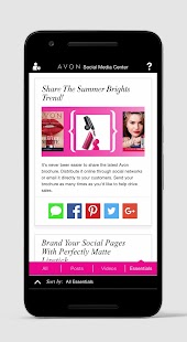 Image result for avon social media center