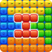 Fruits Block Pop icon