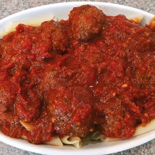 Crock Pot Spaghetti Sauce With Meatballs Recipes