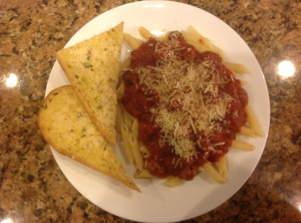 Mix with spaghetti, penne, lasagna, or your favorite cooked pasta. Top with parmesan cheese and...