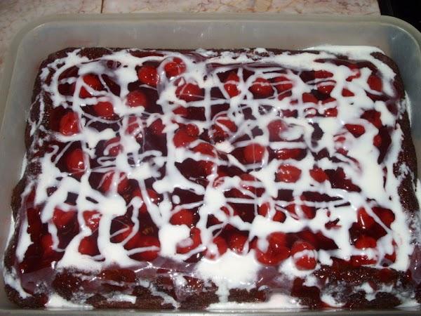 Abe's Cherry Chocolate Cake Recipe