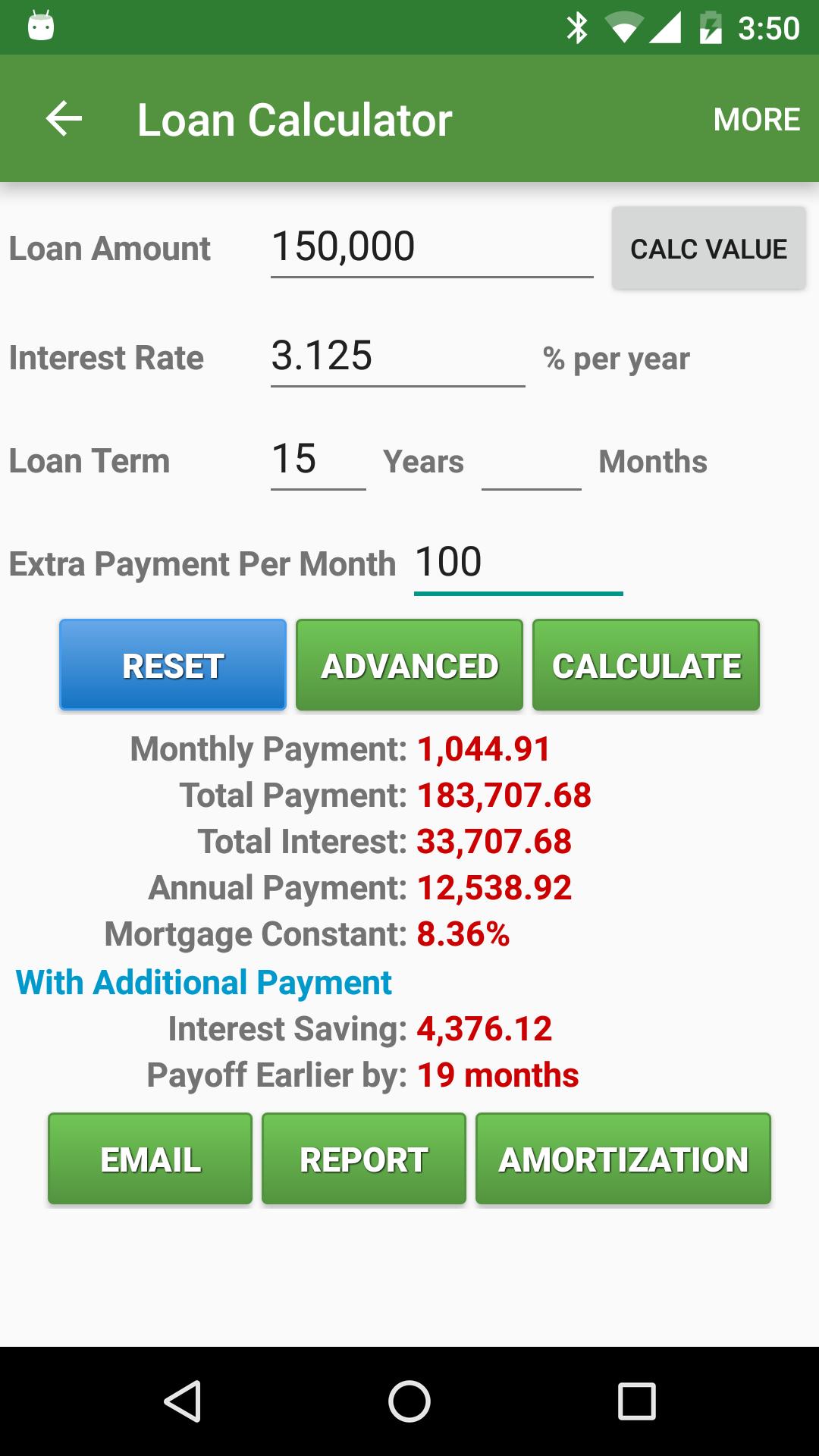 Financial Calculators screenshot #4