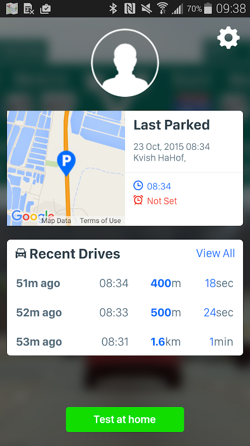 iOnRoad Augmented Driving Lite- screenshot