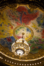 Photo: More controversy! A ceiling painted by Marc Chagall.