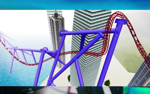 Roller Coaster Simulator Screenshot