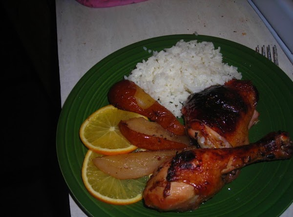 Glazed Baked Chicken Recipe