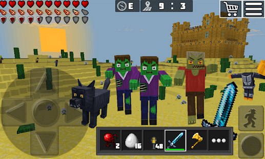 WorldCraft Premium: Mine & Craft Screenshot